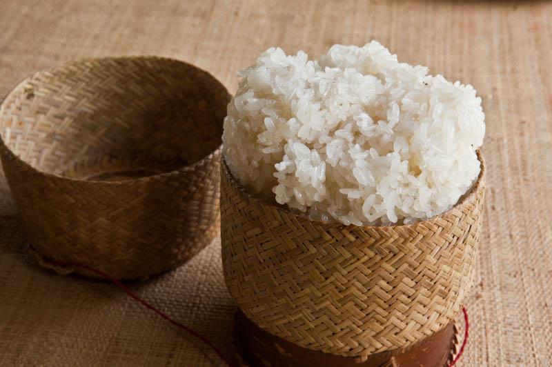 Sticky rice ເຂົ້າໜຽວ kao niao