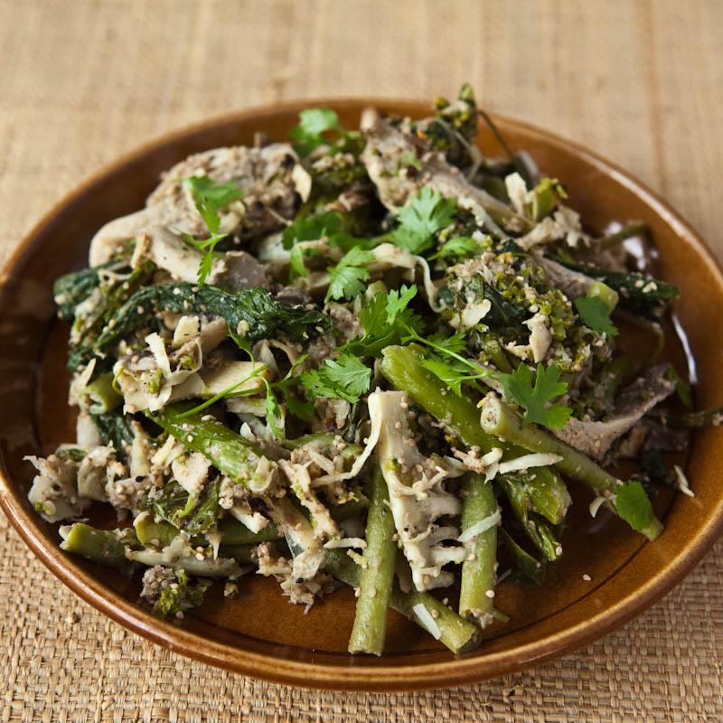 Lao vegetable soop ຊຸບຜັກ soop pak