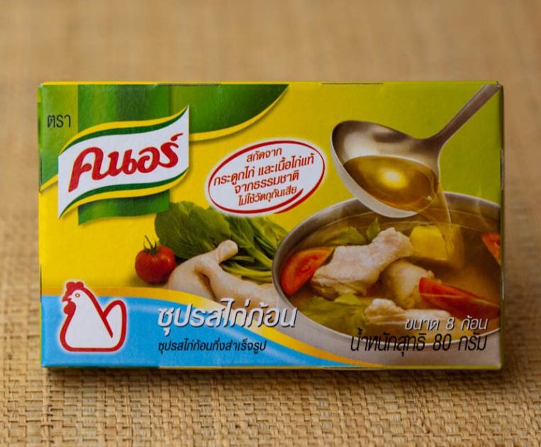 Thai Knorr stock cubes Knorr ຄະນໍ kanaw