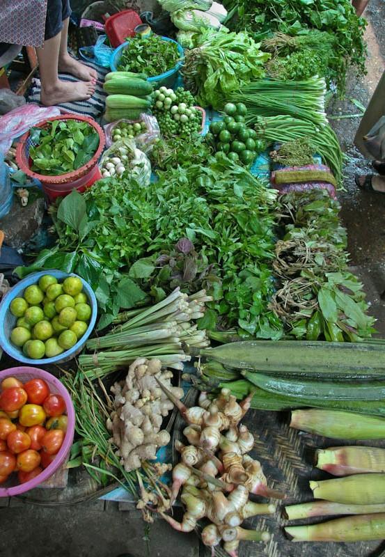 Ban Khone market